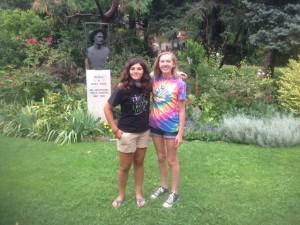 Gabby and Olivia